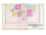 1903, Bentonville - South, Arkansas, United States Giclee Print