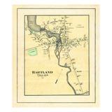 1883, Hartland Village, Maine, United States Giclee Print