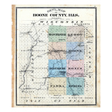 1886, Boone County, Illinois, United States Giclee Print