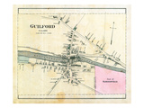 1882, Guilford Village, Maine, United States Giclee Print