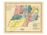 1869, Berlin, Connecticut, United States Giclee Print