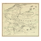 1877, Winchester Township, Mt. Pisgah, Stone Mounyain, Round Pond, New Hampshire, United States Giclee Print