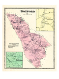 1872, Boxford, East Boxford, West Boxford, Massachusetts, United States Giclee Print