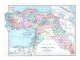 1913, Armenia, Cyprus, Russia, Turkey, Israel, Jordania, Lebanon, Syria, Asia, Holy Land, Arabia Giclee Print