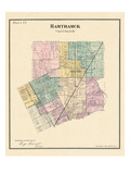 1883, Hamtramck Township, North Detroit, Maybury, Michigan, United States Giclee Print