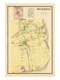 1868, West Haven, Orange Town, Connecticut, United States Giclee Print
