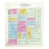 1872, Griggsville, Illinois, United States Giclee Print