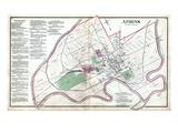 1875, Athens, Ohio, United States Giclee Print