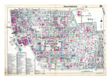 1937, Providence Plate 019, Rhode Island, United States Giclee Print