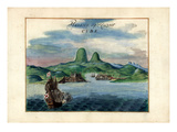 1639, Cuba, Havana Giclee Print