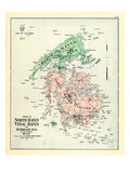 1880, North Haven Town - Vinal Haven Town - Hurricane Isle, Maine, United States Giclee Print