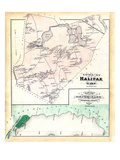 1879, Halifax, Silver Lake, Massachusetts, United States Giclee Print