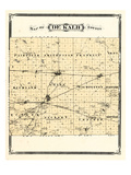 1876, De Kalb County, Indiana, United States Giclee Print
