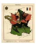 1868, France Giclee Print