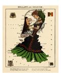 1868, Holland, Belgium Giclee Print
