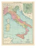 1913, Italy, Europe Giclee Print