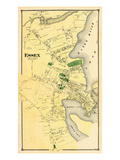 1874, Essex Town, Connecticut, United States Giclee Print