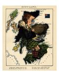 1868, Scotland Giclee Print