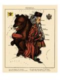 1868, Russia Giclee Print