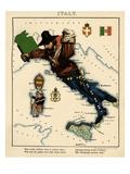 1868, Italy Giclee Print