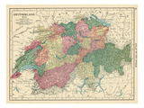 1913, Switzerland, Europe Giclee Print