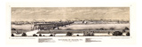 1873, Moline Panoramic View, Illinois, United States Giclee Print