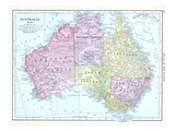 1913, Australia, Oceania Giclee Print