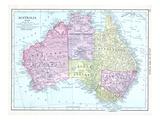 1913, Australia, Oceania Giclee Print