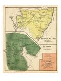 1892, Bridgewater, Hebron, Bristol Town, New Hampshire, United States Giclee Print