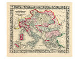 1864, Albania, Austria, Bulgaria, Croatia, Greece, Hungary, Italy, Romania, Russia Giclee Print