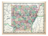 1890, United States, Arkansas, North America, Arkansas Giclee Print