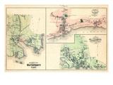 1879, Mattapoisett Town, Sippican, Old Landing Village, Mattapoisett, Massachusetts, Unite States Giclee Print