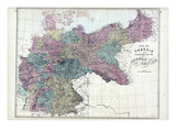 1873, Prussia, German Empire Giclee Print