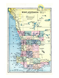 1898, Australia, West Australia Giclee Print