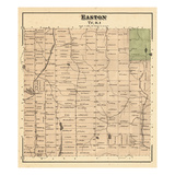 1877, Easto, Maine, United States Giclee Print