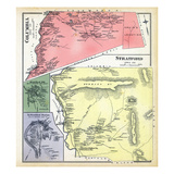 1892, Columbia, Stratford, Stratford Village, Stratford Station North, New Hampshire, United States Giclee Print