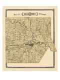 1876, Dearborn Township, Rouge, Michigan, United States Giclee Print
