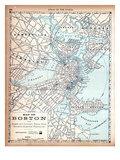 1890, Boston, Massachusetts Giclee Print