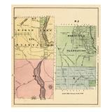 1877, Eagle Lake Plantation, Westfield Plantation, Maine, United States Giclee Print