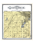 1916, Battle Creek Township, Welcome Park, Foster Park, Prairie View, Hart Lake, Michigan, United S Giclee Print