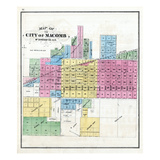 1871, Macomb - City, Illinois, United States Giclee Print