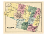 1869, Suffield, Connecticut, United States Giclee Print