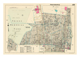 1937, Providence Plate 040, Rhode Island, United States Giclée-Druck