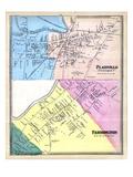 1869, Plainville, Farmington Town, Connecticut, United States Giclee Print