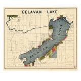 1921, Delavan Lake, Wisconsin, United States Giclee Print