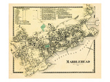 1872, Marblehead Center, Massachusetts, United States Giclee Print