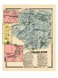 1870, Charllton, Charlton Depot, Charlton Town, Charlton Town, Massachusetts, United States Giclee Print