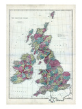 1873, The British Isles, England Stampa giclée