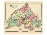 1868, Milford, Connecticut, United States Giclee Print