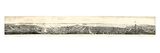 1862, San Francisco Panoramic View from Russian Hill, California, United States Giclee Print